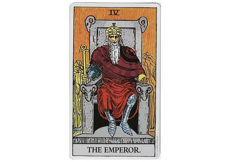 タロットカードの皇帝