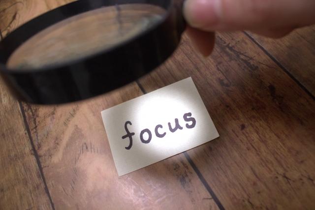 集中力のメカニズム