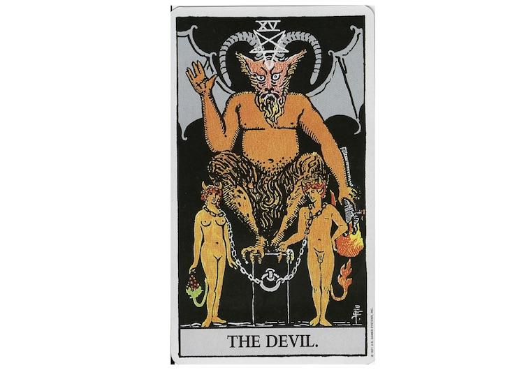 タロット占いの悪魔の意味とは