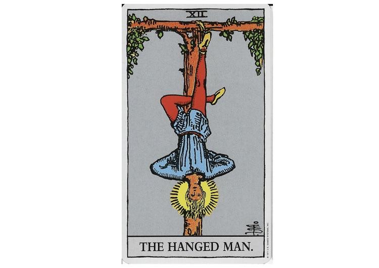 タロット吊るされた男の意味