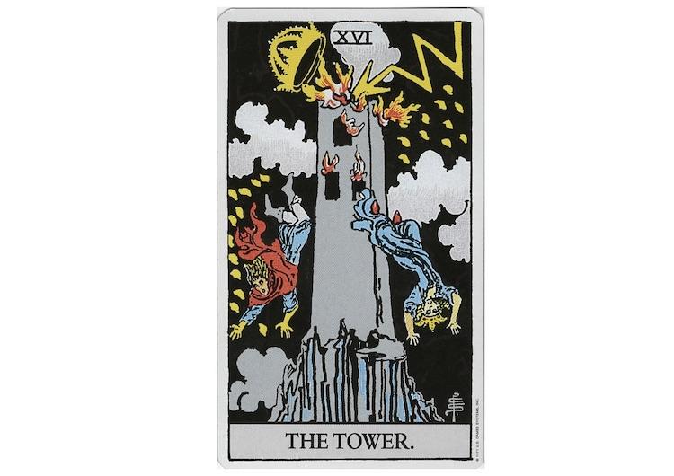 タロット塔の意味とは
